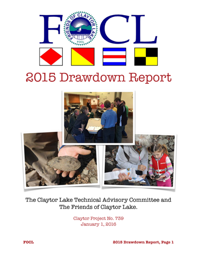 2015 Drawdown Report 1