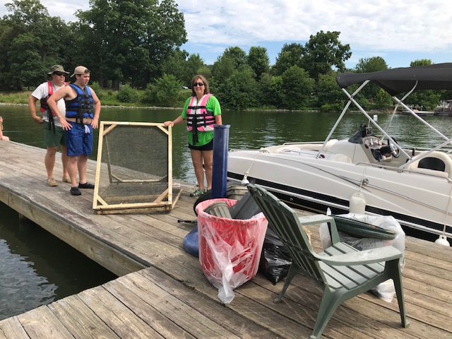 Congratulation to Henry and Lisa Bass for collecting the most unusual item for All Lake Clean Up Day! Anyone have a guess as to what that is?